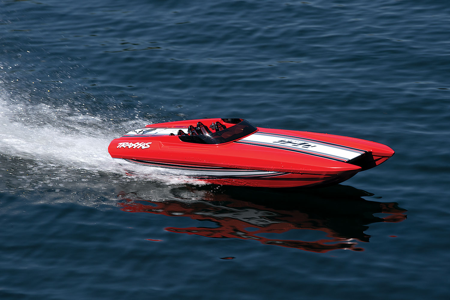 Traxxas Dcb M41 Widebody 40 Catamaran Race Boat Red