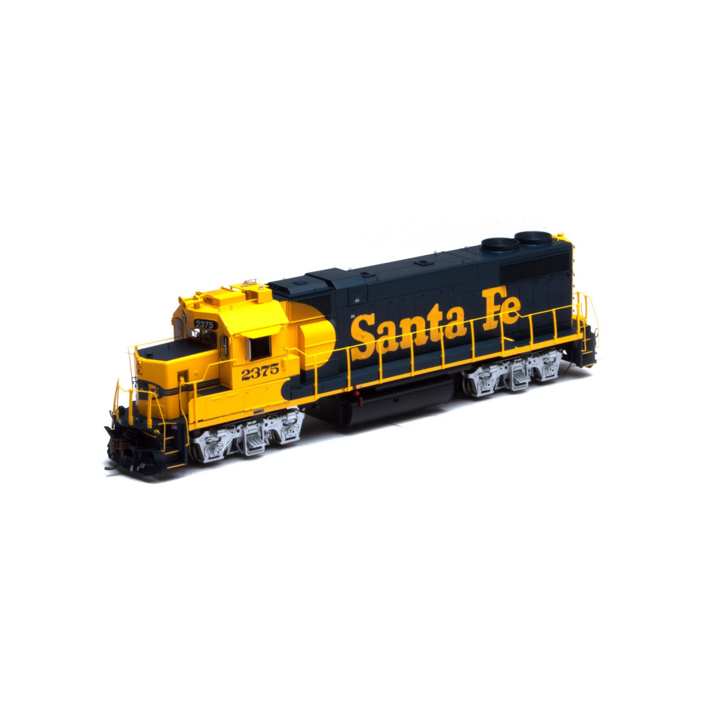 Ho Gp38 2 Sf Yellow Warbonnet 2375 La Boutique Du